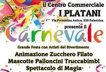 Carnevale Centro Commerciale I PLATANI Palestrina