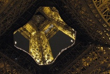 Eiffle Tower / I love the Eiffle Tower!  It's one of my favorite structures in the world and I'm constantly fascinated by it's beauty and strength. / by Susan Clawson