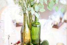adornos botellas