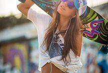 Skater girl/street style photoshoot