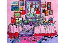 Pokoloruj swój bałagan color me cluttered Godfrey Durell / Pokoloruj swój bałagan color me cluttered Godfrey Durell  coloring book for adult