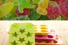 postres y caramelos