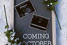 Idées d'annonces de grossesse