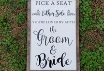 Wedding Family Wooden Signs
