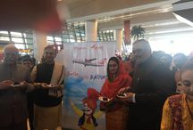 Inaugural flight from New Delhi to Bathinda