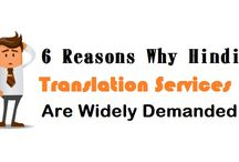 6 Reasons Why Hindi Translation Services Are Widely Demanded