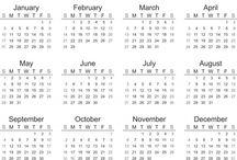 Printable 2016 Calendar Template / Free printable 2016 calendars