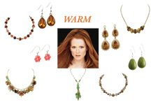 Warm Colouring - What to wear / What to wear for women with golden/red hair and warm skin tone