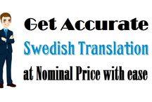 """Get Accurate """"Swedish Translation"""" at Nominal Price with ease"""