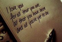 Love  / Mehr als Liebe ...