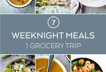 Family Food Recipes / If you have a large family it can be tough to come up with meals every night! Follow our board for tons of recipes to help out.