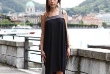 Karen P. by Leichic indossa (N-1) couture sul lago di Como.