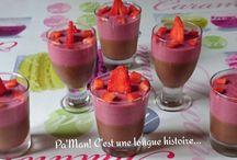 Desserts et petites gourmandises