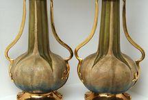 Amphora -Tepliz - Mettlach - F.A. Mehlem - Oriental   ETC   -S