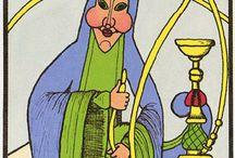 Alice in W: Tarot 2 / Alice in wonderland/tarot cards