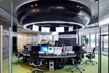 Office interiors / Modern office interiors.