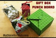 gift box and bags punch board