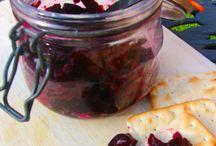 Vegan sauces jams and dips