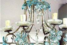 Chandeliers and lights