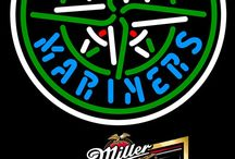 Miller MGD with MLB Neon Signs