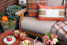 Fall Home Decor Inspiration / Home decor ideas incorporating vintage, shabby chic, and cottage styles..  Keeping it fresh.