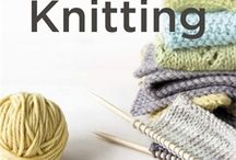 Knitting/Crochet / by CrazyHappyMess