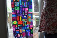 Kids crafts and teaching / Grandkids fun