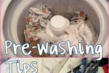 Fabric washing tips