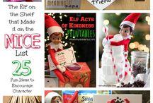 Elf on the shelf / Elf on the shelf ideas