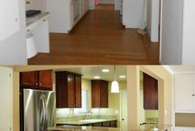 Renovation.  Before/after