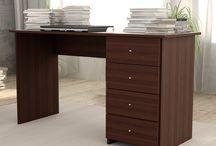 Muebles Home Office / Ideales para oficinas, los escritorios que comercializamos contienen correderas metálicas y varios cajones para que puedas guardar ordenadamente todo tu material.