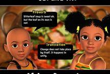 Obi and Titi African Proverbs