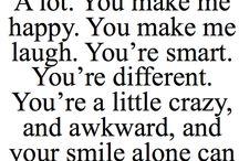 Awww sweet sayings