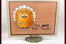 Owl Give Thanks {Stamp Set}