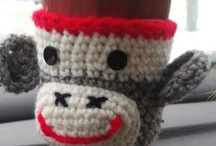 Creative Cup Cozies / It's like giving your cup a hug.  A hand-made hug, at that...the best kind.
