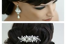 The bride wears...