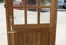 oak stable doors