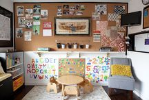 Home: office/playroom