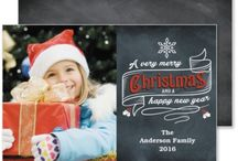 Christmas Photo Card Ideas / A compilation of Christmas photo card and Christmas holiday card ideas.