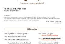 AgroSpot 2015 / Locandine attività ed eventi AgroSpot.