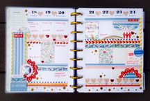 Plan It Sundays / Board showcasing all the wonderful planner spreads that our design team create