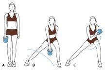 Kettle bell exercises