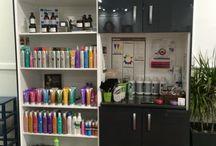 Hair salon renovation / New renovations at classic cuts hair studio ❤️