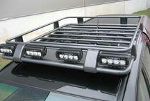 Roof rack / Tag bøjle til Ole's bil