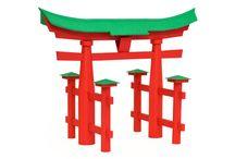 Torii of Itsukushima / #torii #gate