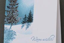 Cards- Christmas inspiration