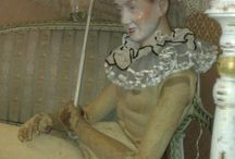 Old-school Mannequins / Vintage artist models and other creepy and beautiful models