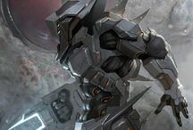 Concept: Armor / by Mark Zamayla