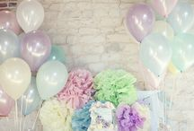 Baby party decor