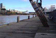 Melbourne city scape / City